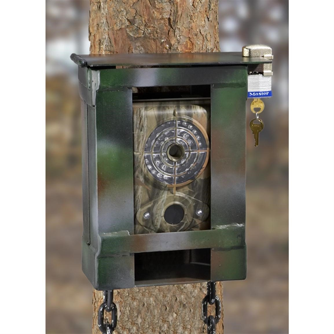trail camera lock box