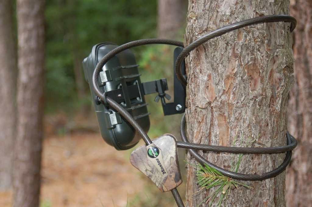 trail camera lock cable